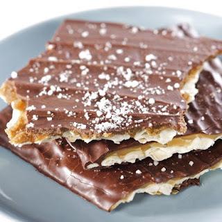 Homemade Toffee-Chocolate Matzah