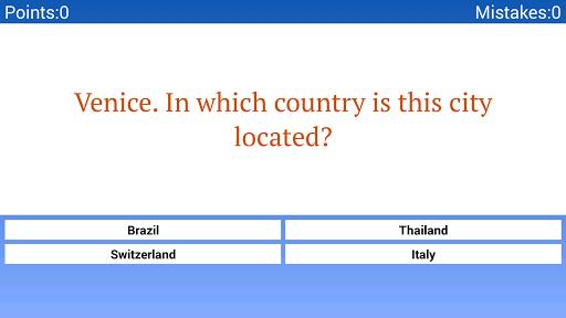 猜地方地理考验