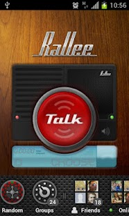 Rallee Walkie Talkie PTT - screenshot thumbnail