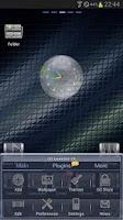 Screenshot of GLASS GO Launcher EX Theme