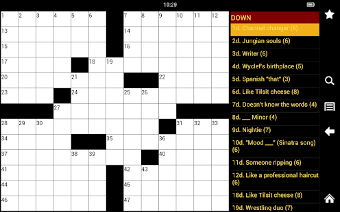 Crossword Puzzle King - screenshot thumbnail