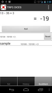 RPG DICES - screenshot thumbnail