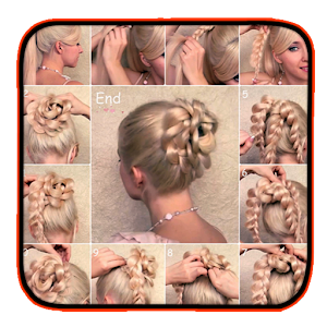 Stupendous App Bridal Hairstyle Steps Apk For Windows Phone Android Games Short Hairstyles For Black Women Fulllsitofus