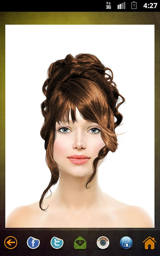 hair styling app hair style changer android apps on play 3403