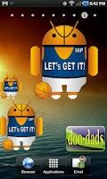 Screenshot of Droid Basketball doo-dad