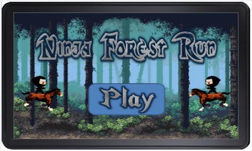 Forest Ninja Run