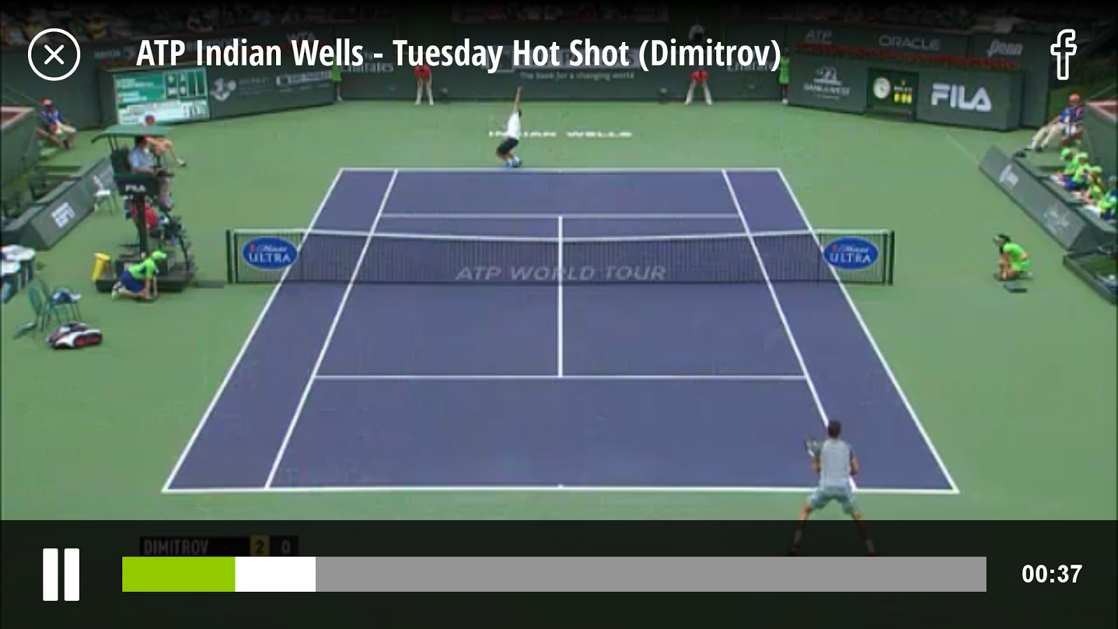 TennisTV:Live Streaming Tennis - screenshot