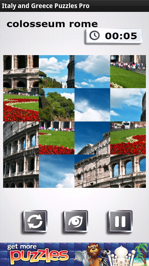 Italy & Greece Puzzles - FREE - screenshot