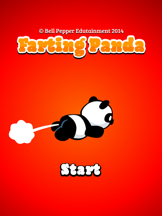 Farting Panda - Farting action- screenshot
