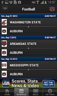 Auburn Tigers - screenshot thumbnail