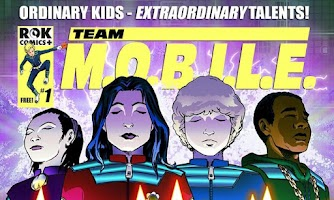 Screenshot of Team M.O.B.I.L.E Comic