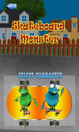 スケートボードモンスター
