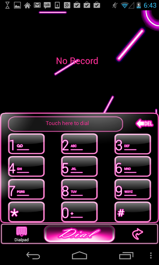 Pink Neon Complete 5 Themes - screenshot