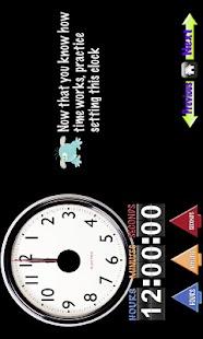 My First Clock Tablet- screenshot thumbnail