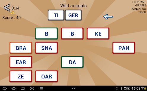 Word Domino - Letter games - screenshot thumbnail
