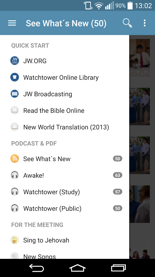 JW Podcast (english)- screenshot