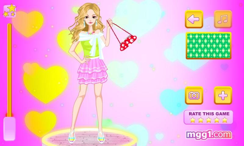 Babydoll Style Dress Up - screenshot