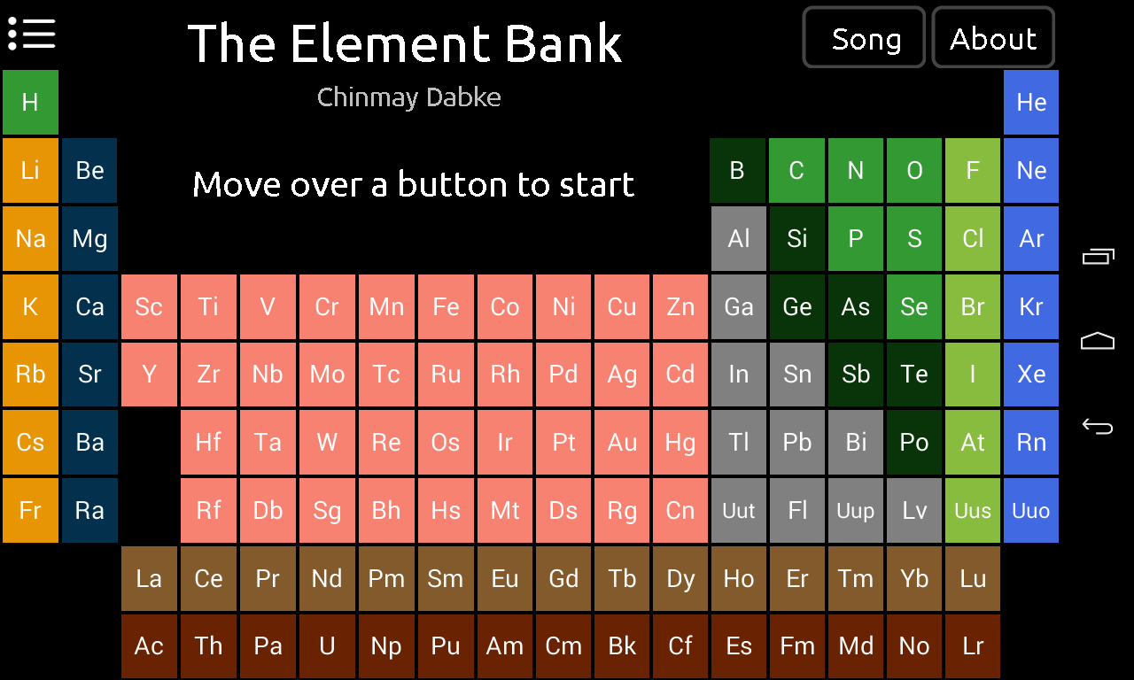 Element bank periodic table apk 11 download free education apk element bank periodic table apk urtaz Gallery