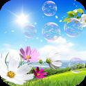Soap Bubbles Live Wallpaper icon