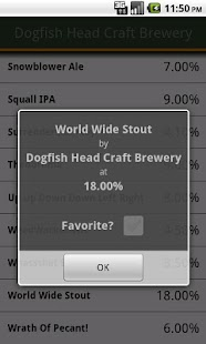 Any Beer ABV Free - screenshot thumbnail