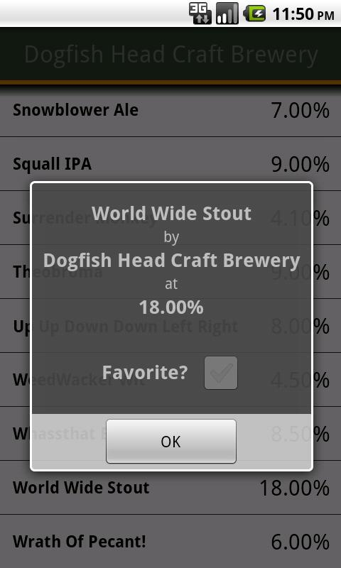Any Beer ABV Free - screenshot