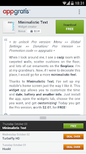 AppGratis - screenshot thumbnail