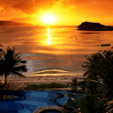 Amazing Beach at Sunrise Live icon