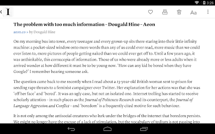 Instapaper Screenshot 9