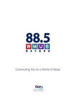 Screenshot of WMUB Public Radio App