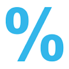 برنامج لحساب نسبة مئوية icon