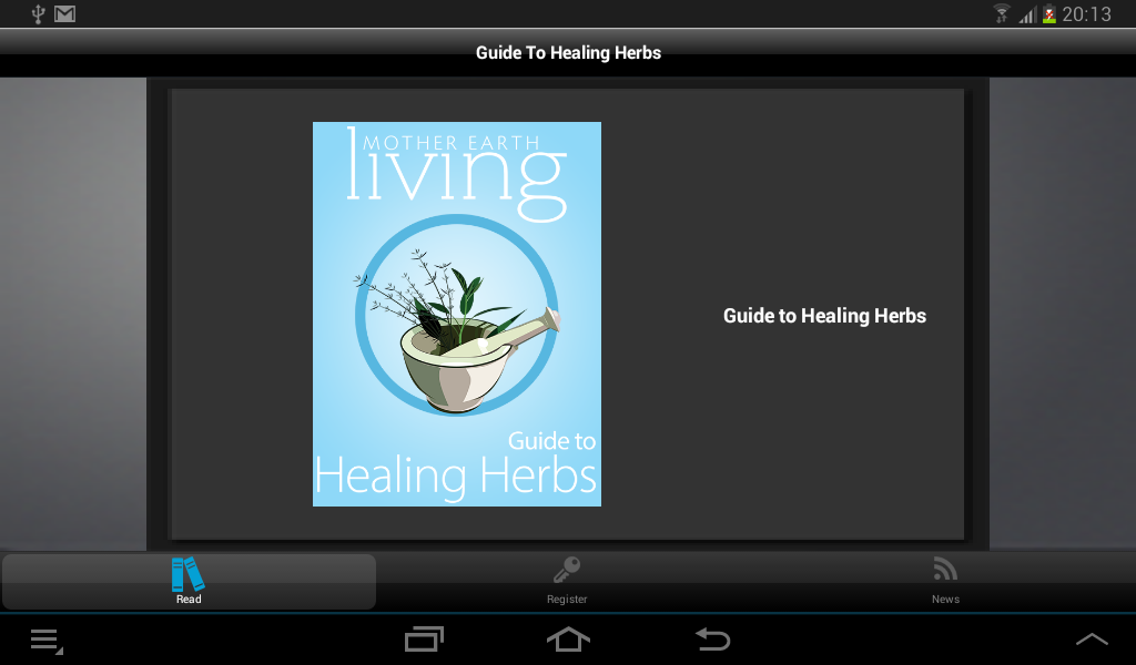 Guide To Healing Herbs - screenshot