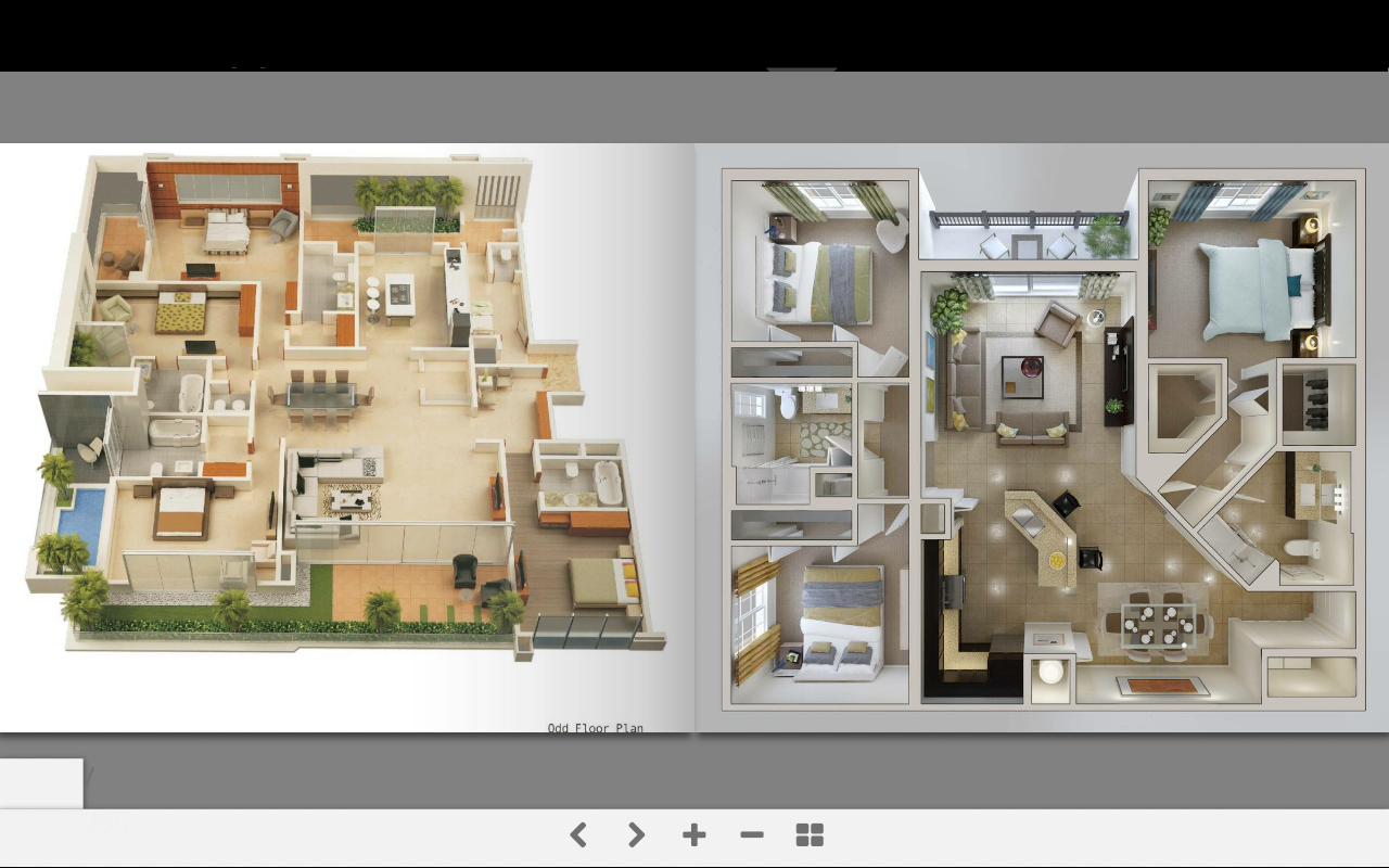 3d home plans android apps on google play for Planos de casas 3d