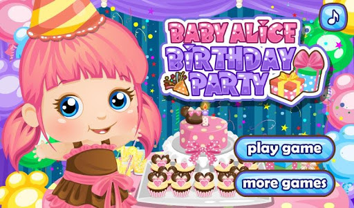 Birthday Party for Baby Alice