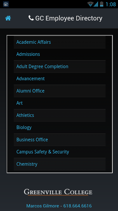 GC Student Success - screenshot