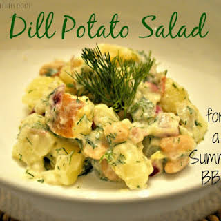 Dill Potato Salad.