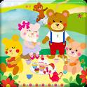 KUMA-JIRO with friends logo