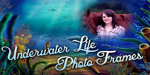 Underwater Life Photo Frame