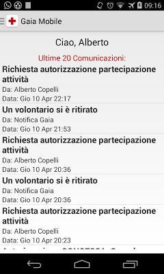 Gaia Mobile - screenshot