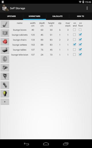【免費工具App】Self Storage Unit Size-APP點子