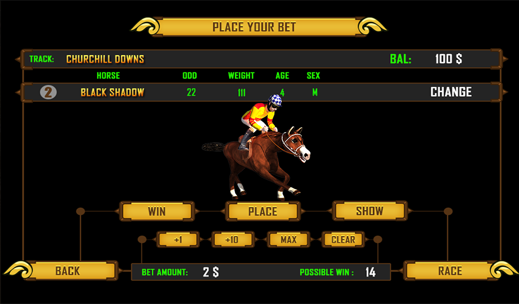 Play Virtual Horses arcade at Casino.com New Zealand