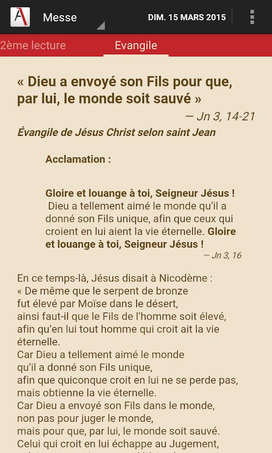Aelf lectures du jour applications android sur google play - Aelf liturgie des heures office des laudes ...
