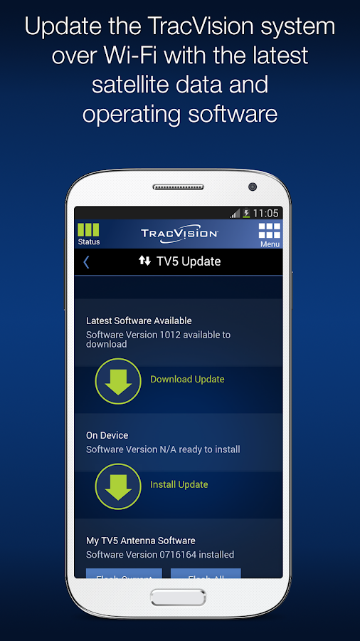 Kvh Tracvision Tv Rv Series Android Apps On Google Play
