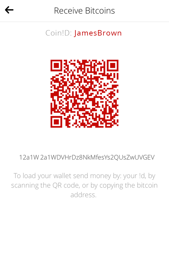 Pheeva Bitcoin Wallet- screenshot