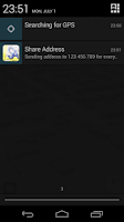 Screenshot of Share Address (Lite)