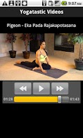 Screenshot of Yoga tastic