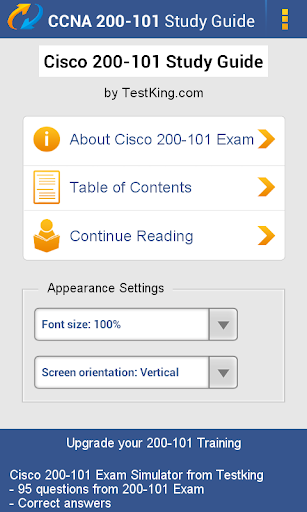 ICND 200-101 Study Guide