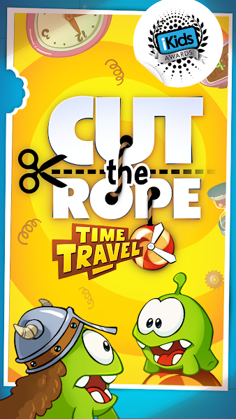 Cut the Rope: Time Travel v1.6.1 [Mod Hints/Power/Unlocked]