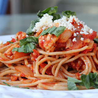 Spaghetti and Meat Sauce.