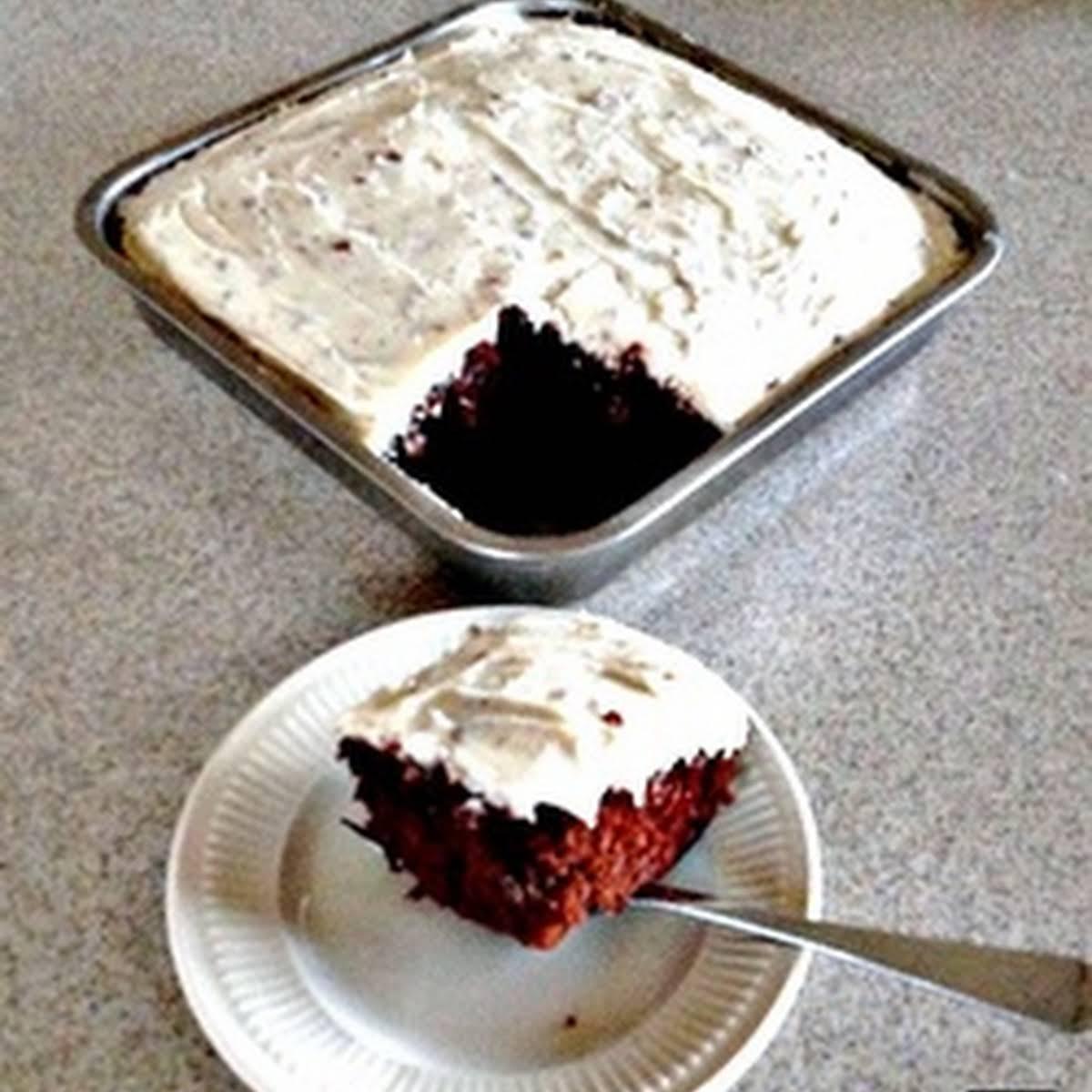 Nannys Whiz Bang Wacky Cake