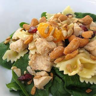 Bowtie Chicken Pasta Salad.